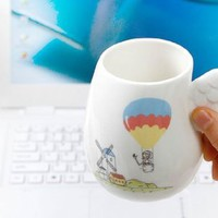 ZLB My dream in my hands Dearm Cup Color White