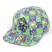 Super Mario party nes switch Unisex Fashion Baseball Cap  Bros Snapback Hat Summer Casual Caps for Men Women AT_80_8