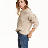 H&M Chunky-knit Sweater $49.99