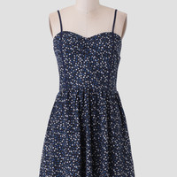 Country Nights Floral Dress