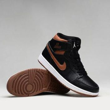 CREYON3V Nike Air Jordan Retro High Rare Air Bronze Men Sports Basketball Shoes