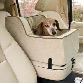 Image of High Back Luxury Console Pet Car Seat