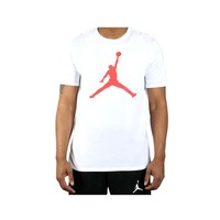 Air Jordan Mens Sportswear Iconic Infrared Jumpman Logo 6 IX T-Shirt