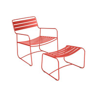 Outdoor patio Surprising Lounger - Fermob colorful deck chair