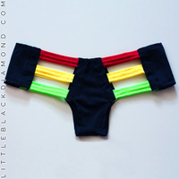 Rasta Cutout Bottoms