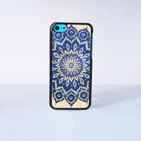 Mandala Plastic Phone Case For iPhone 5C More Case Style Can Be Selected