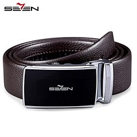 Luxury Men Belt Real Genuine Leather Designer High Quality Automatic Buckle Male Belt For Men Jeans Cow