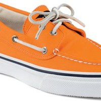 Sperry Top-Sider Bahama Varsity 2-Eye Boat Shoe Orange, Size 10M  Men's