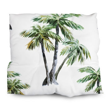 Tropical Palms Outdoor Cushions