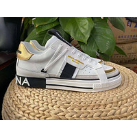 D&G  Men Fashion Boots fashionable Casual leather Breathable Sneakers Running Shoes01GH
