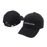 ONETOW Balenciaga Embroidered Outdoor Baseball Cap Hats
