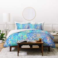 Lisa Argyropoulos When Oceans Collide Duvet Cover