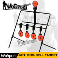 WoSporT 5-Plate Reset Shooting Target Tactical Metal Steel Slingshot BB gun Airsoft Paintball Archery Hunting Outdoor&Indoor