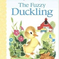 The Fuzzy Duckling (Golden Baby Board Books)
