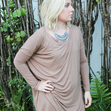 Piko Tunic in Khaki