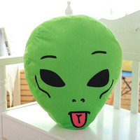 RIPNDIP Lord Alien We Out Here Stuffed Animal Pillow
