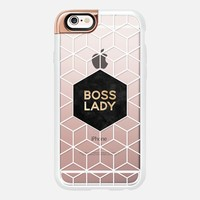 Boss Lady - Transparent 1 iPhone 6s case by Elisabeth Fredriksson | Casetify