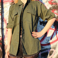 Vintage Olive Drab Army Navy Jacket Assorted Sizes - Free Shipping