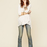 Free People Womens 5 Pocket Skinny Flare