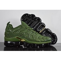 2020 Nike Air Max Plus TN VM 'Amry Green' Vapormax Vapor Max Woman Fashion Running Sneakers Sport Shoes