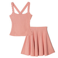 PEACH PINK CO-ORD