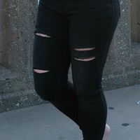 Olivia Distressed Jeggings