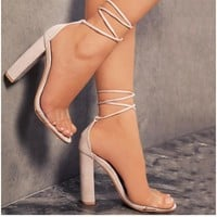 Hot selling trend women with high-heeled sandals with high heels