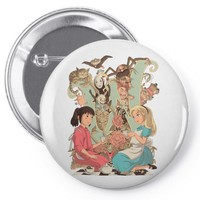 wonderlands Pin-back button