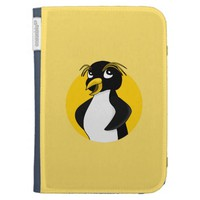 Rockhopper penguin cartoon kindle keyboard cases