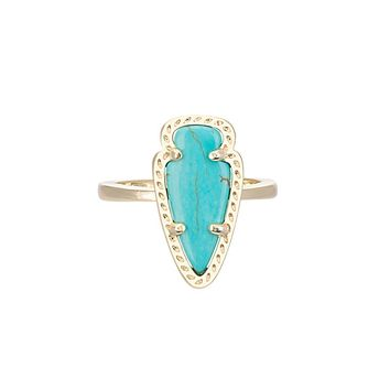 Skylen Ring in Turquoise - Kendra Scott Jewelry