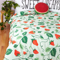ModCloth Food Lull Me to Sweet Duvet Cover in Full, Queen