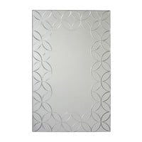 Geo Chic Rectangle Wall Mirror 23.5X35.5 (8906) - Illuminada