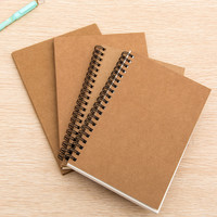 32K Retro Sketch Paper Blank Notebook Sketch Drawing Book Journal Personal Diary Note Stationery 01604