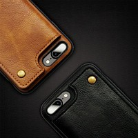 iPhone Back Wallet Case