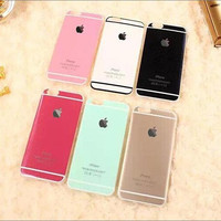 TPU Phone Cases for Apple iphone 6