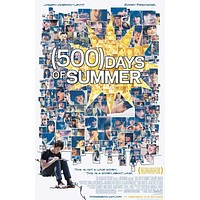 500 Days of Summer 11x17 Movie Poster (2009)