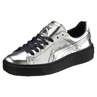 Basket Platform Metallic Women's Sneakers, buy it @ www.puma.com