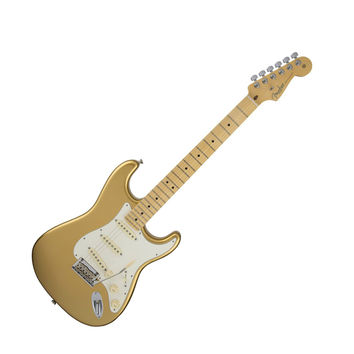 Fender Limited Edition American Standard Stratocaster with Case - Mystic Aztec Gold at Hello Music