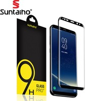 9H 3D Full Curved Screen Protector Suntaiho Tempered Glass For Samsung Galaxy S8 Tempered Glass For Samsung Galaxy S8 Plus Glass