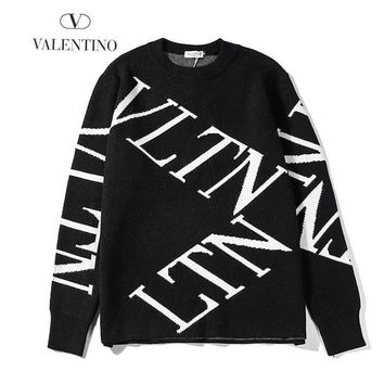 Valentino Fashion Women Men Casual Long Sleeve Top Sweater Sweatshirt