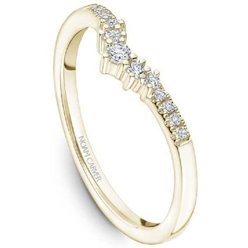 Noam Carver Round Cut Tip Graduating Diamond Wedding Band