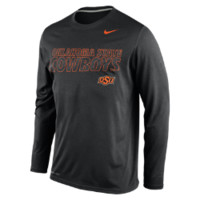 Nike College DNA Legend Long-Sleeve Crew (Oklahoma State) Men's Training Shirt