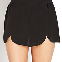 Simply Stated Scalloped Shorts