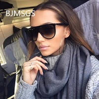 Fashion Sunglasses Brand Woman 2018 Sun Glasses Retro Women Oversized Shade Lady Female Oculos Dropshipping