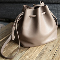 The new wave of female bag bucket bag Messenger bag handbag shoulder bag women