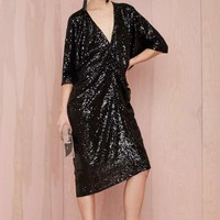 Nasty Gal Night Moves Sequin Dress