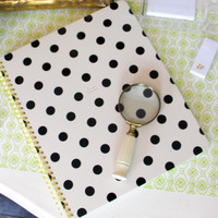 kate spade: large spiral notbook- so well composed