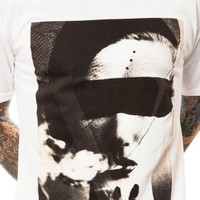 Black Scale Men's See No Evil Tee Extra Large White