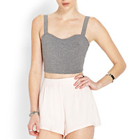 FOREVER 21 Soft Woven Pleated Shorts Blush