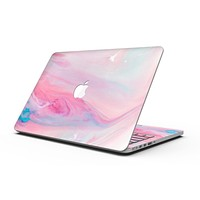 Marbleized Colored Paradise V3 - MacBook Pro with Retina Display Full-Coverage Skin Kit